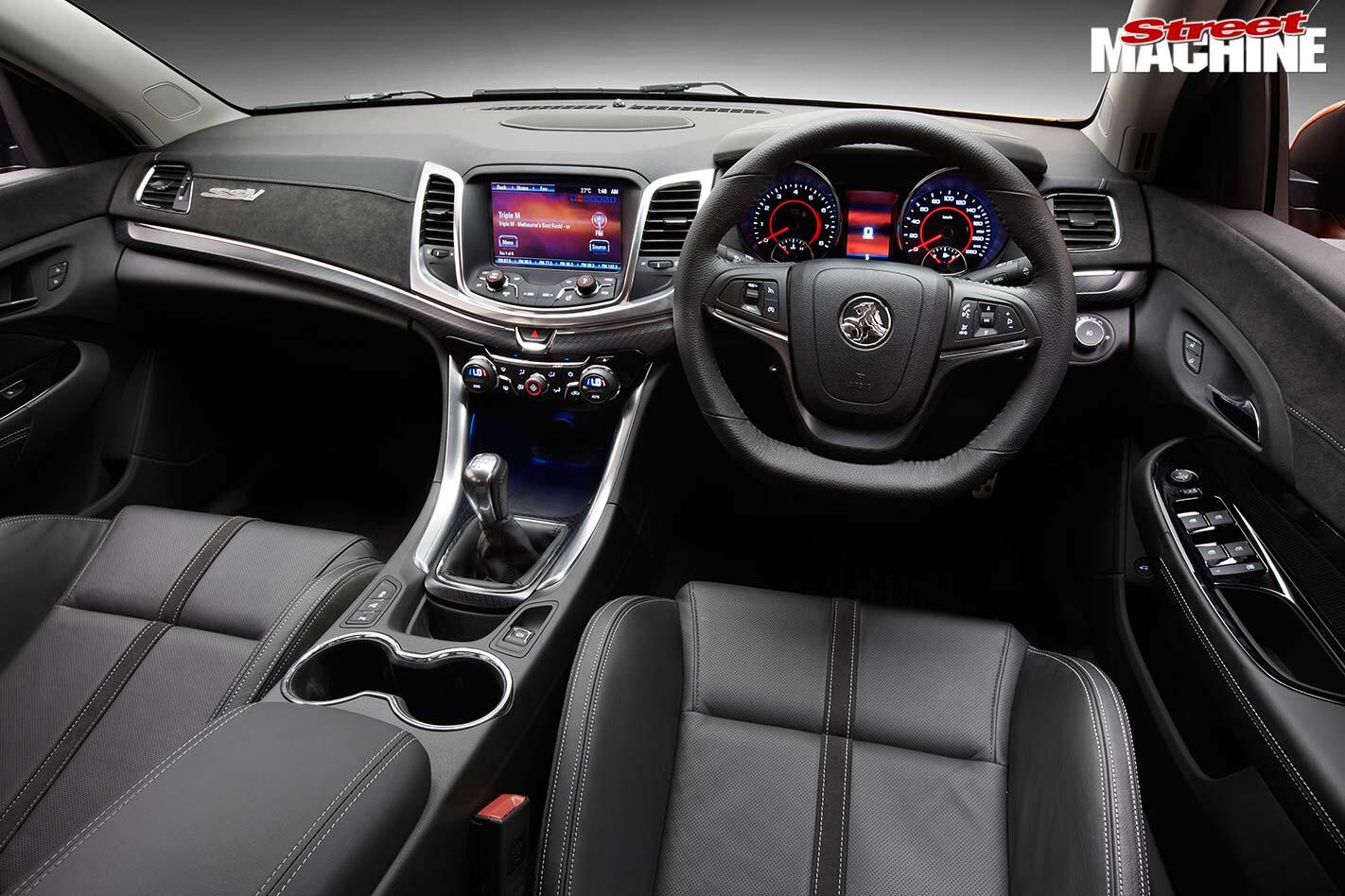 Holden VF Commodore interior