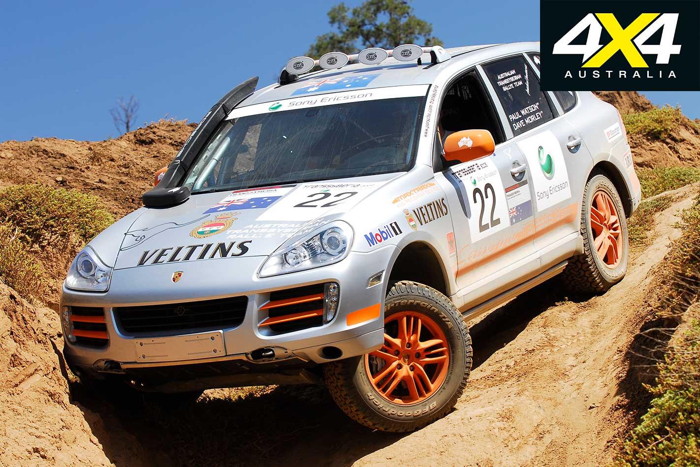 2009 Porsche Cayenne Transsyberia Front Static Jpg