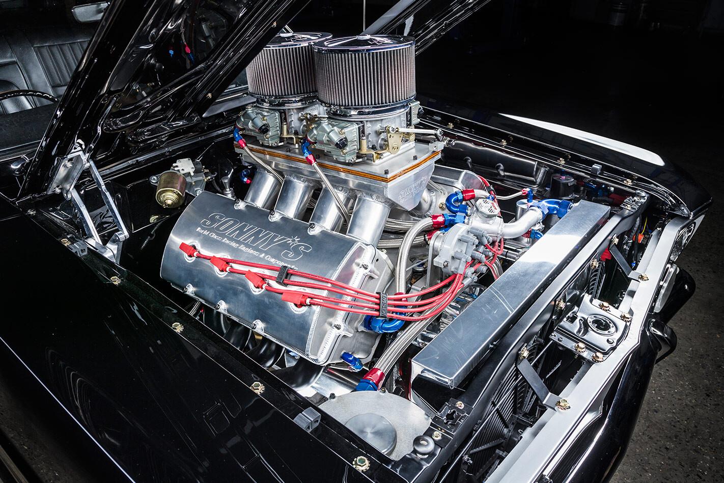 Ford Falcon XY engine bay