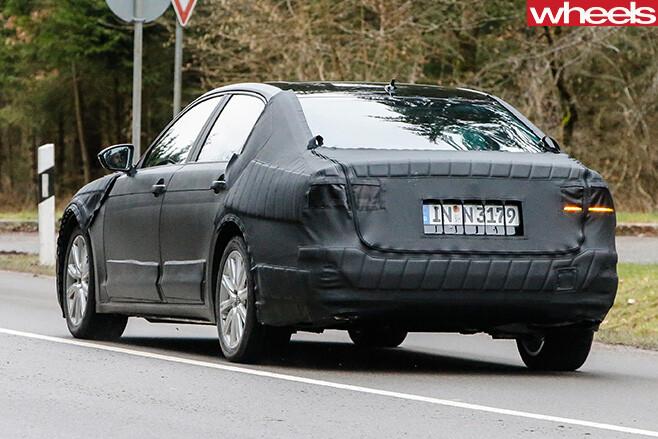 Volkswagen -CC-rear