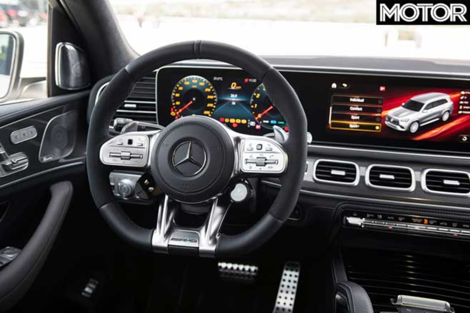 Mercedes AMG GLS 63 Dashboard Jpg