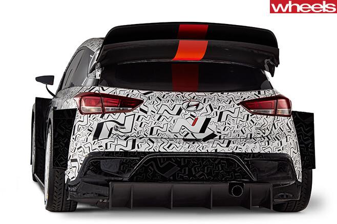 Hyundai -i 20-WRC-edition -rear
