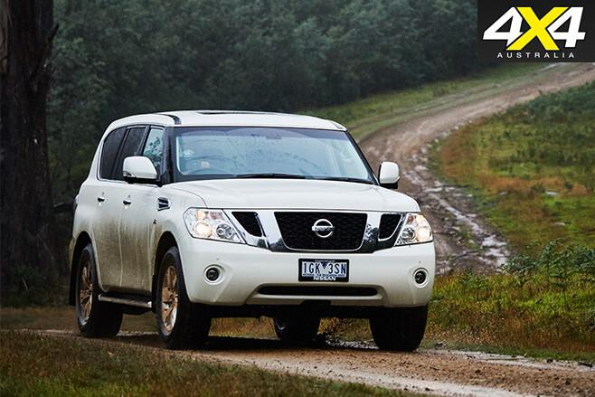 Y62-Nissan Patrol driving
