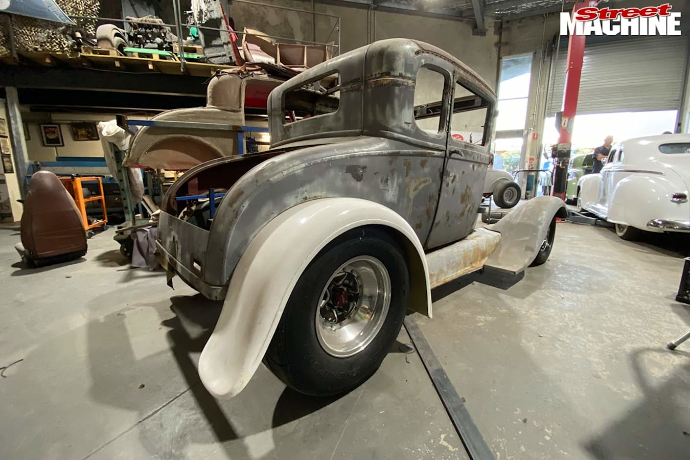 Ford Model A coupe build