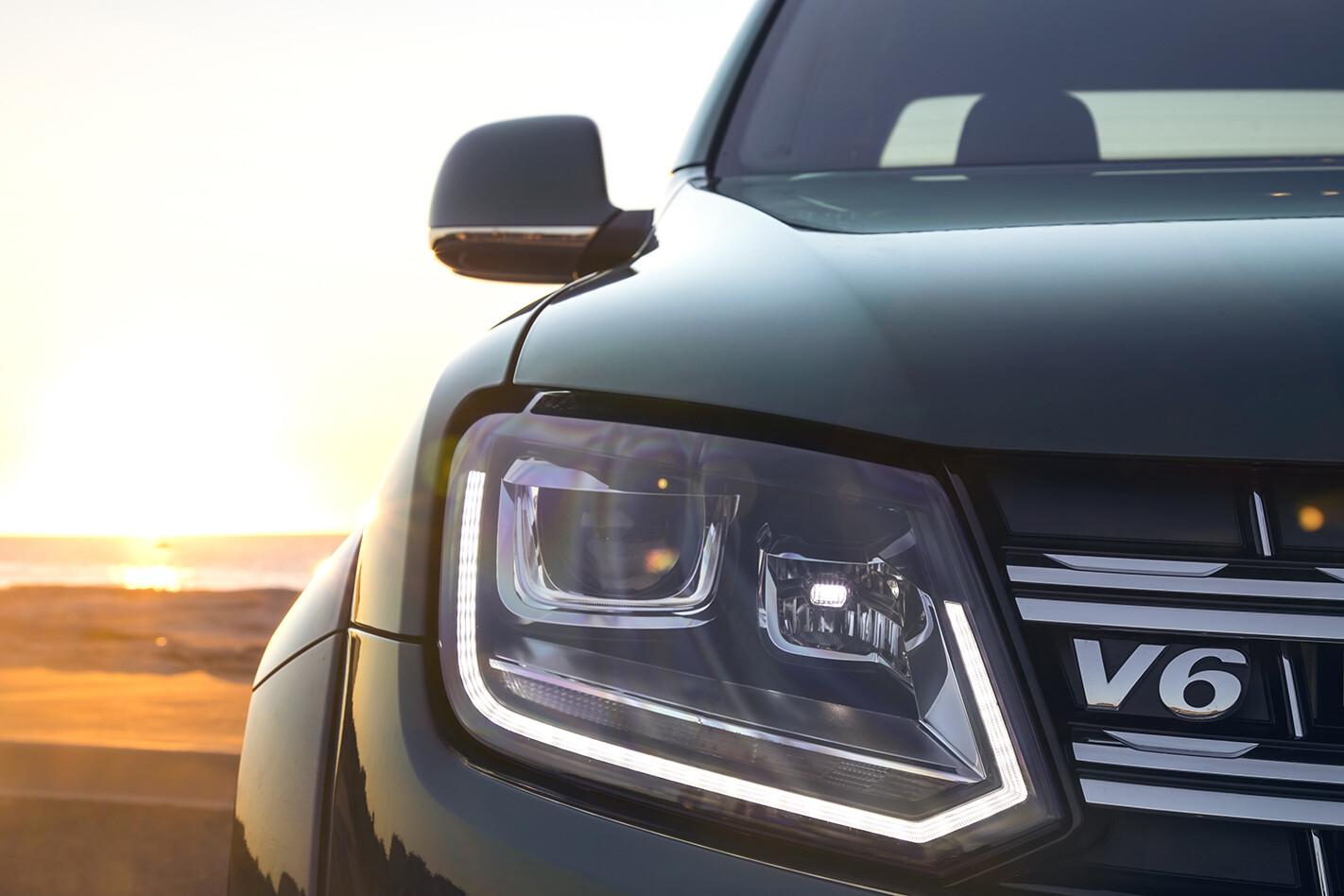 2019 VW Amarok 580 Headlampdetail Jpg