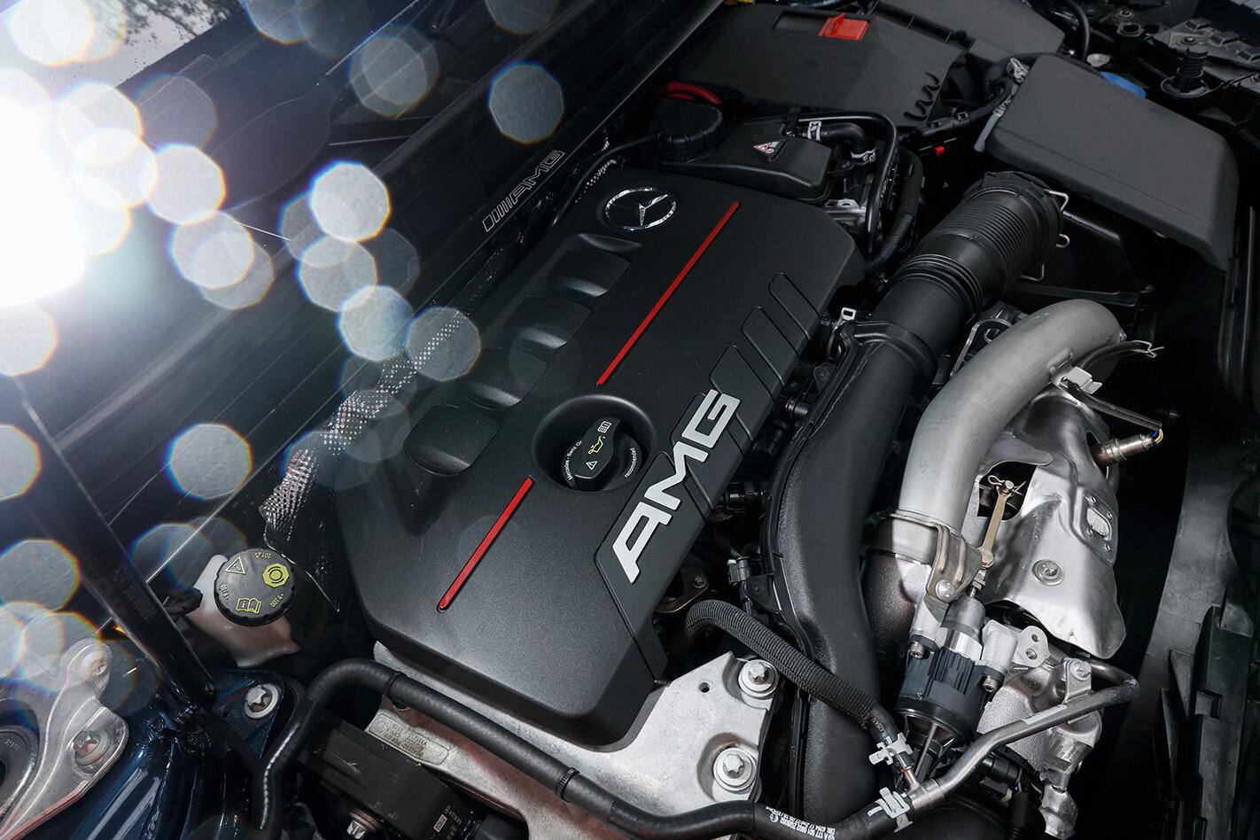 2021 Mercedes Benz GLB 35 Engine Jpg