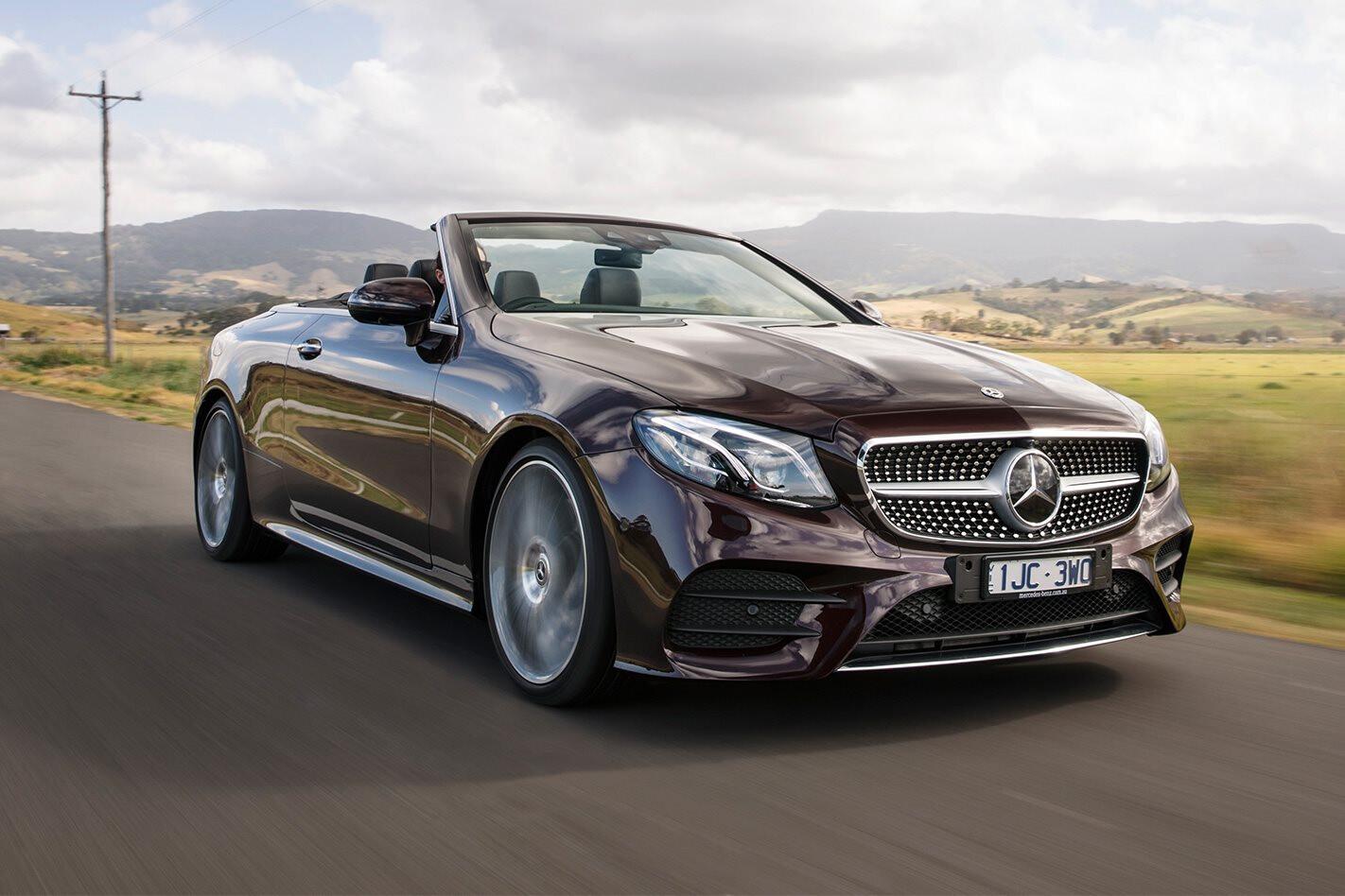 2017 Mercedes-Benz E400 Cabriolet review