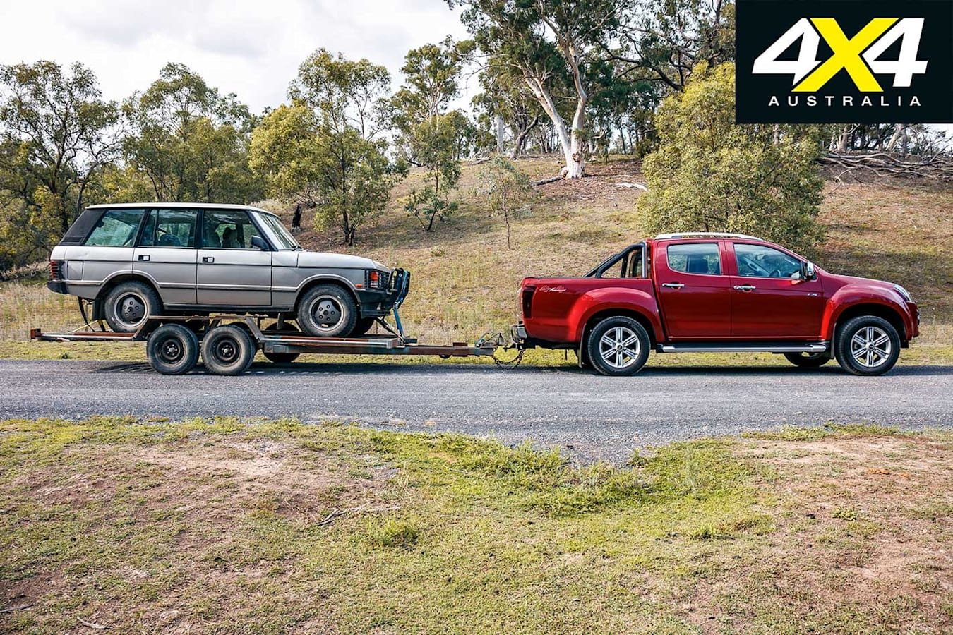 2019 Isuzu D Max Load And Tow Test Review Setup Jpg