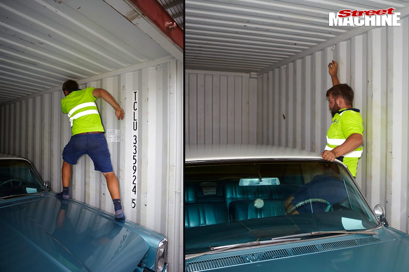 Importing cars in a container