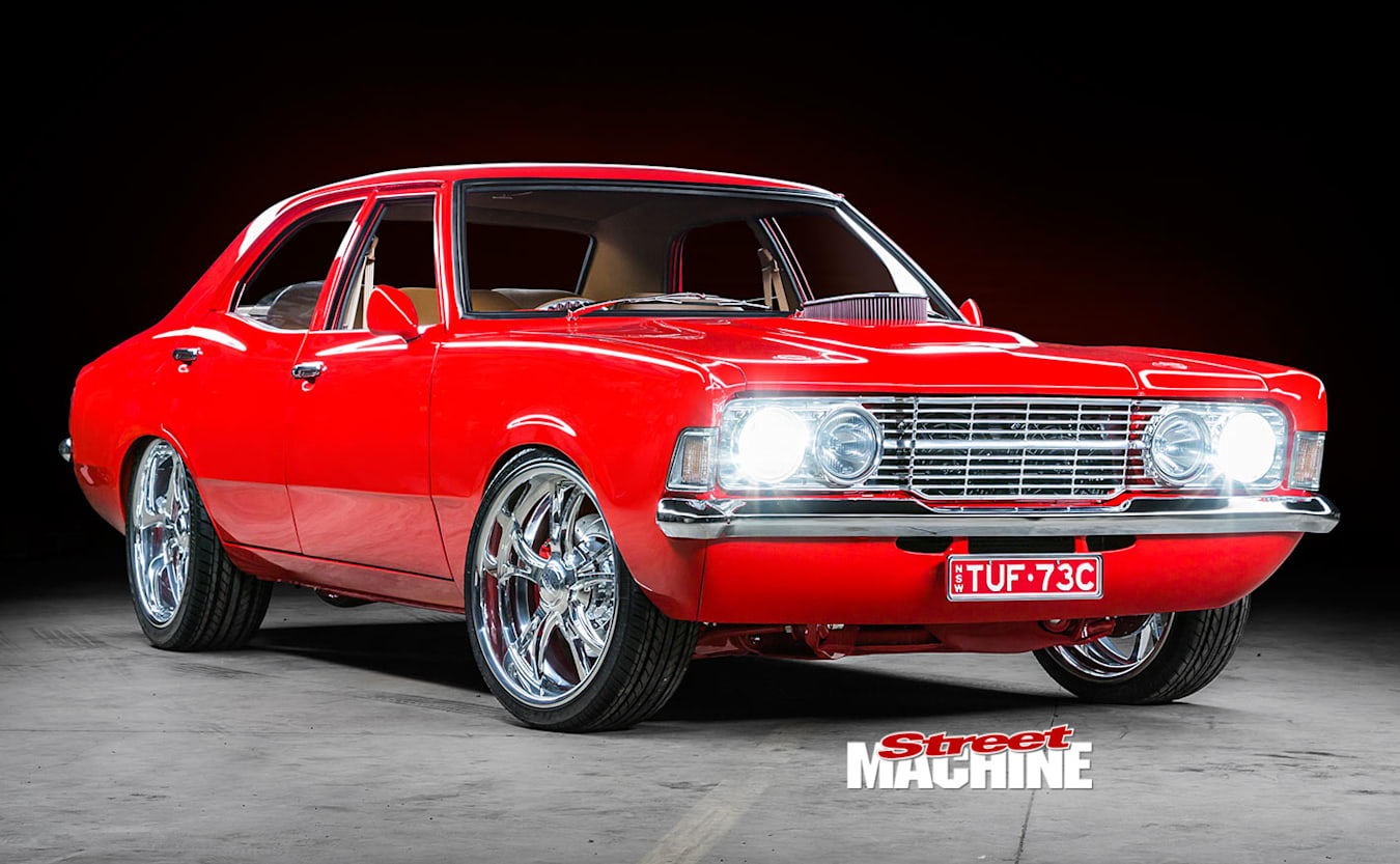 Ford Cortina front