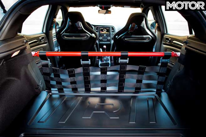 2020 Renault Megane RS Trophy-R rear seat removed