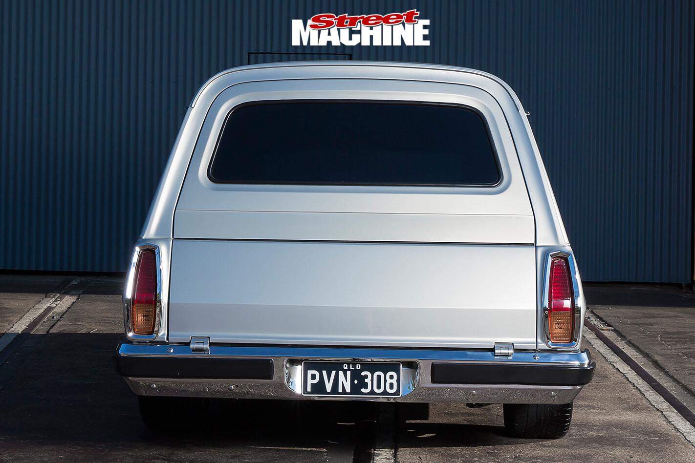 Holden -HX-Sandman -rear -view