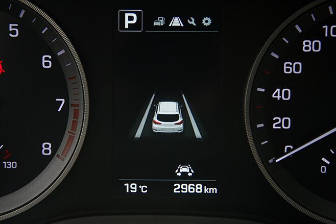 cruise control display