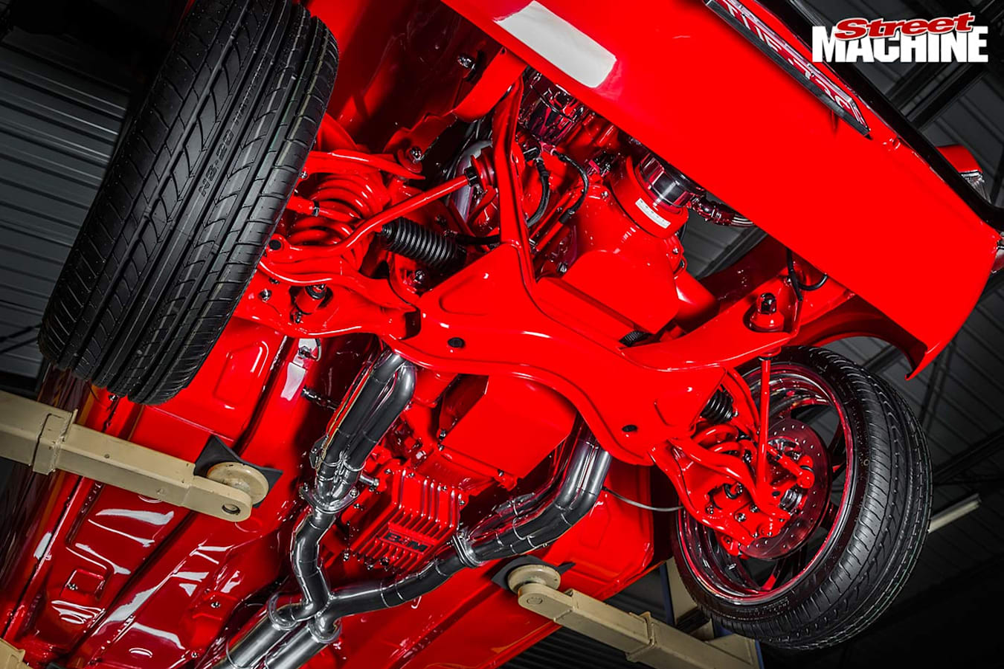 Ford Cortina underside