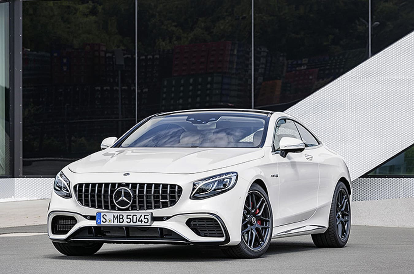 2018 AMG S Class Coupe