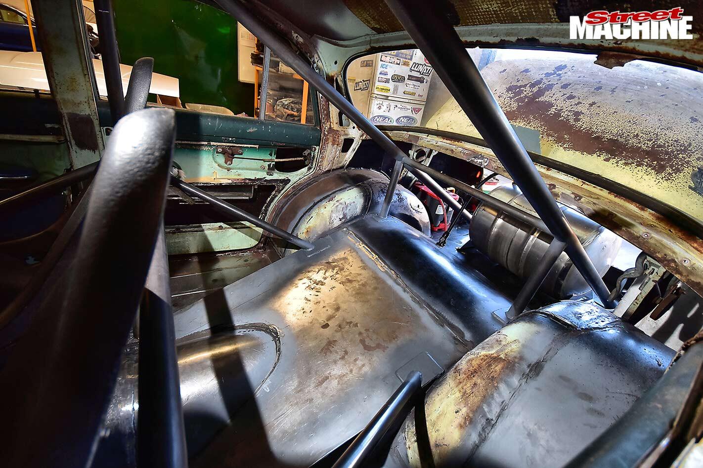 Holden FE interior