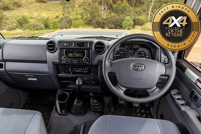 Toyota -Landcruiser -79-dual -cab -ute -interior -cabin
