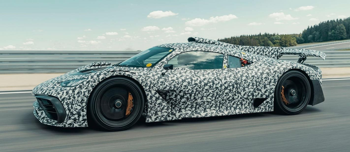 Mercedes-AMG Project One testing
