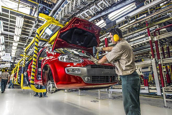 Fiat Manufacturing in Brazil