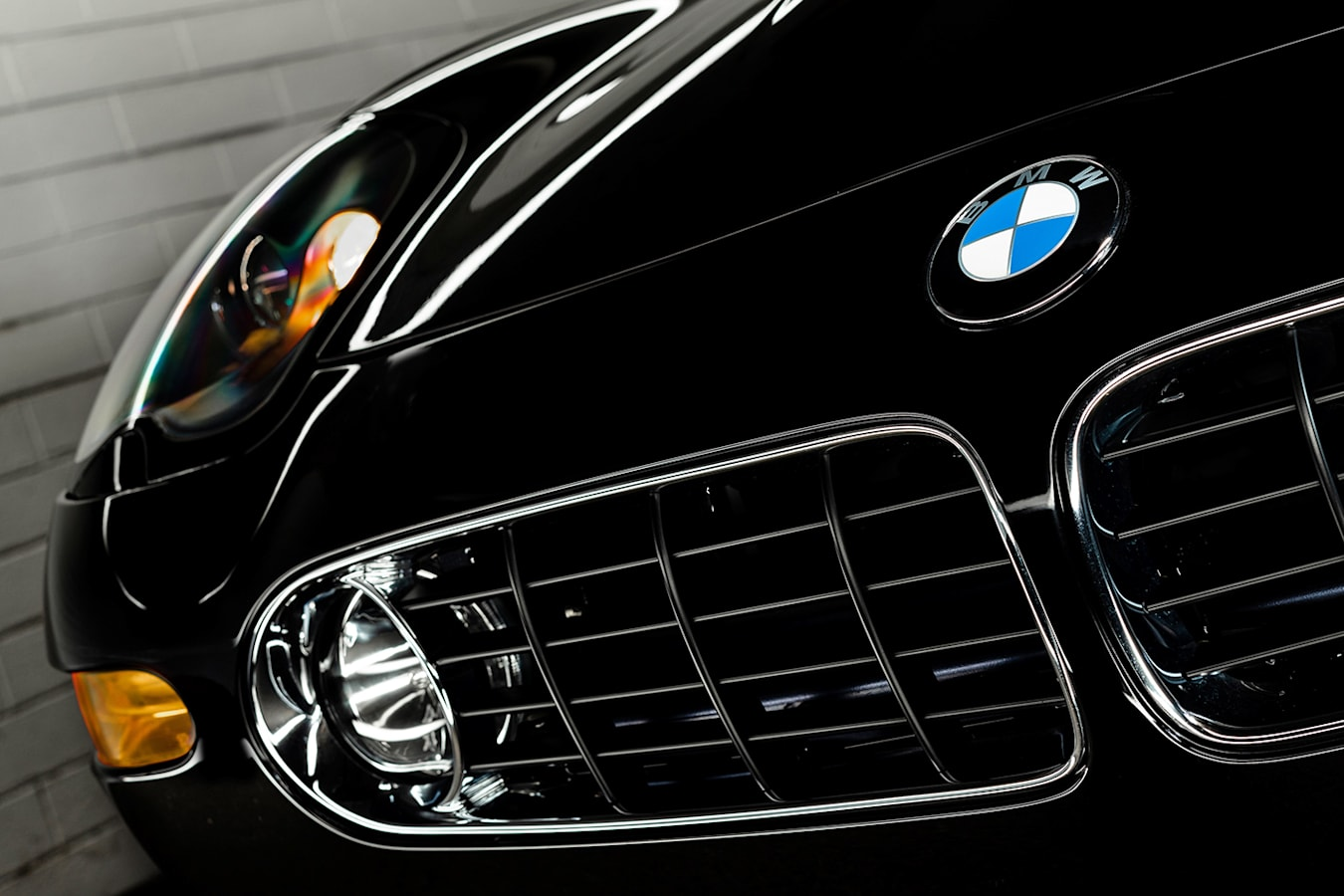 BMW Z8 front grille