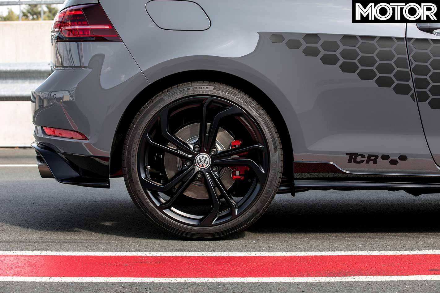 Volkswagen Golf GTI TCR Rear Wheel Jpg