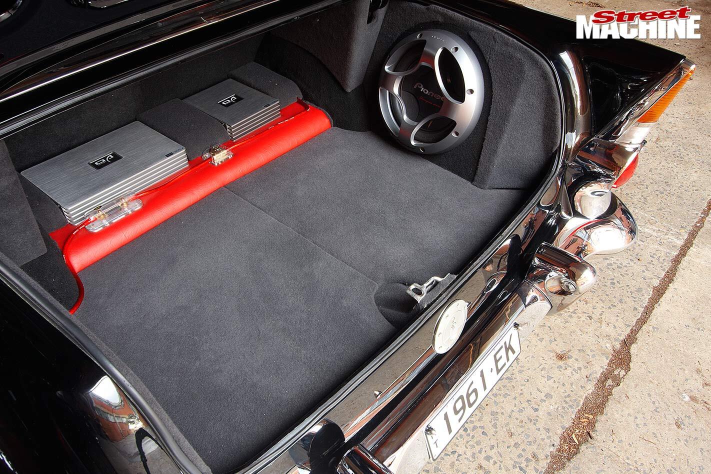 Holden EK Special boot