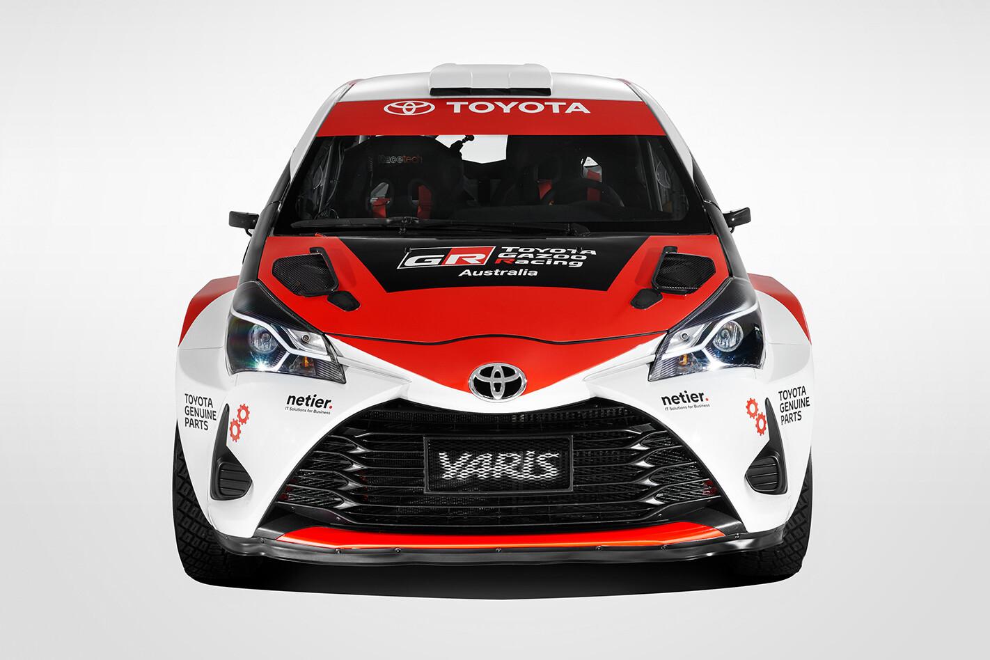 Toyota Gazoo Racing Front Jpg