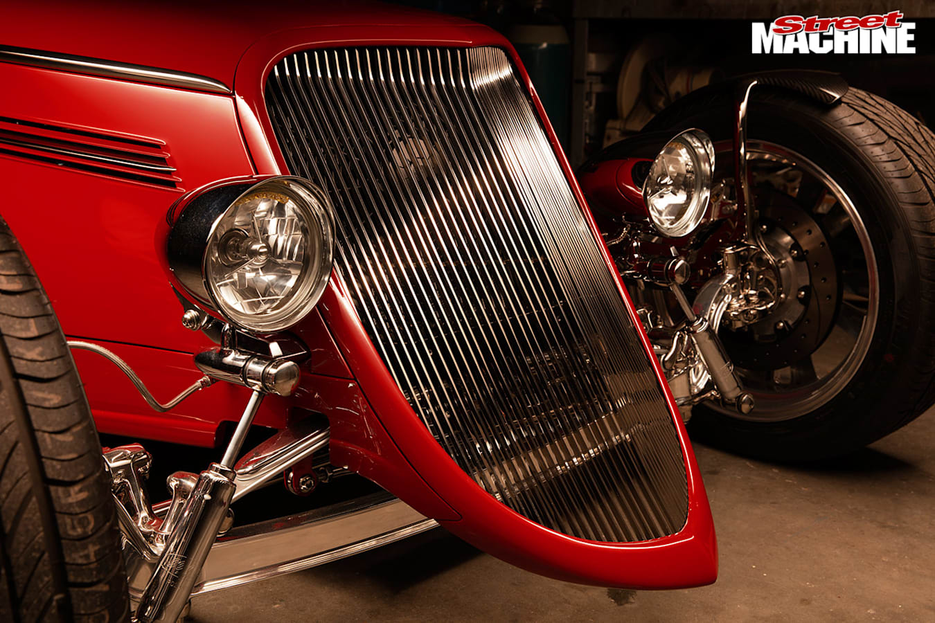 1933 Ford Roadster grille