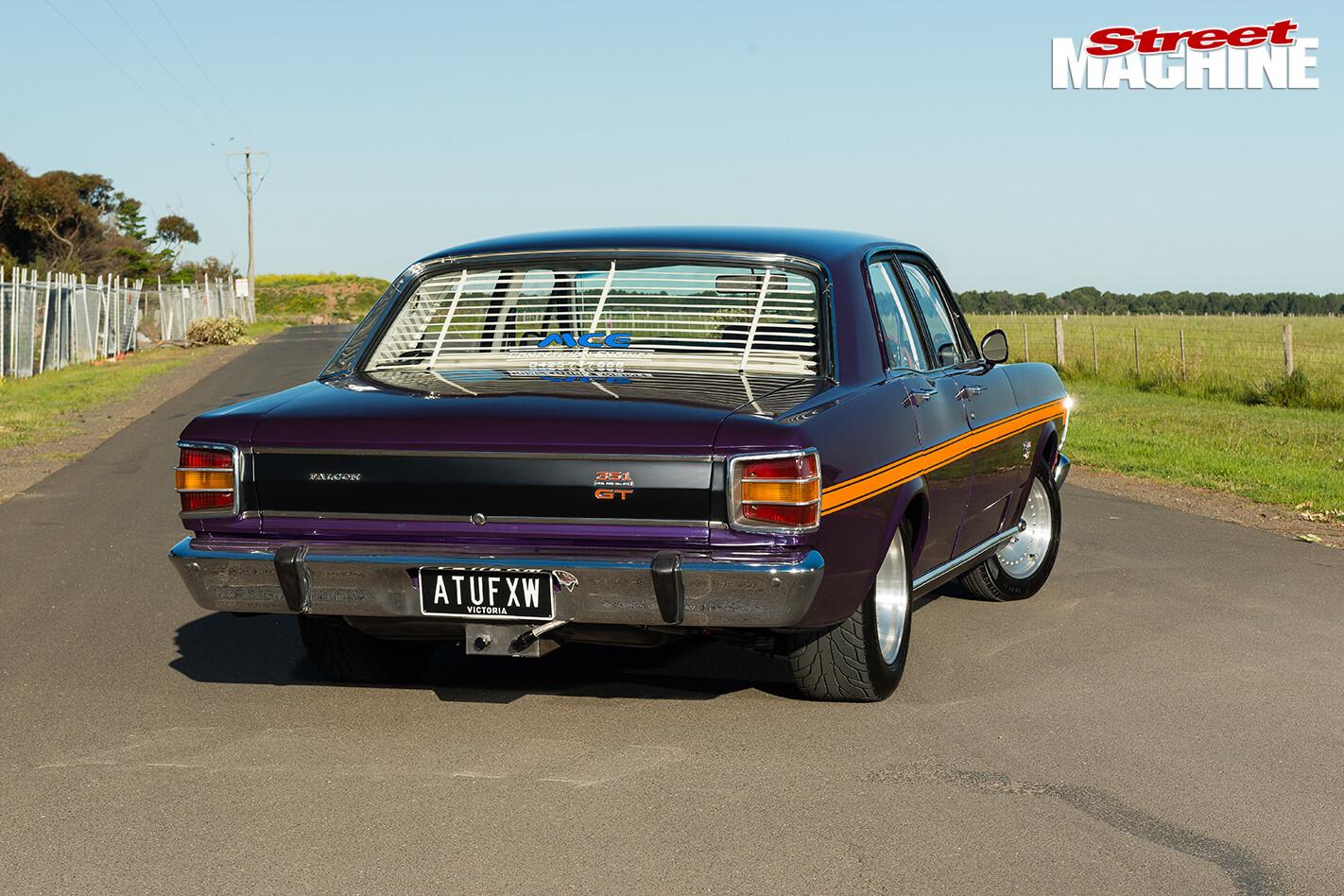 CHRIS GAUCI S 1969 FORD FALCON XY GT rear