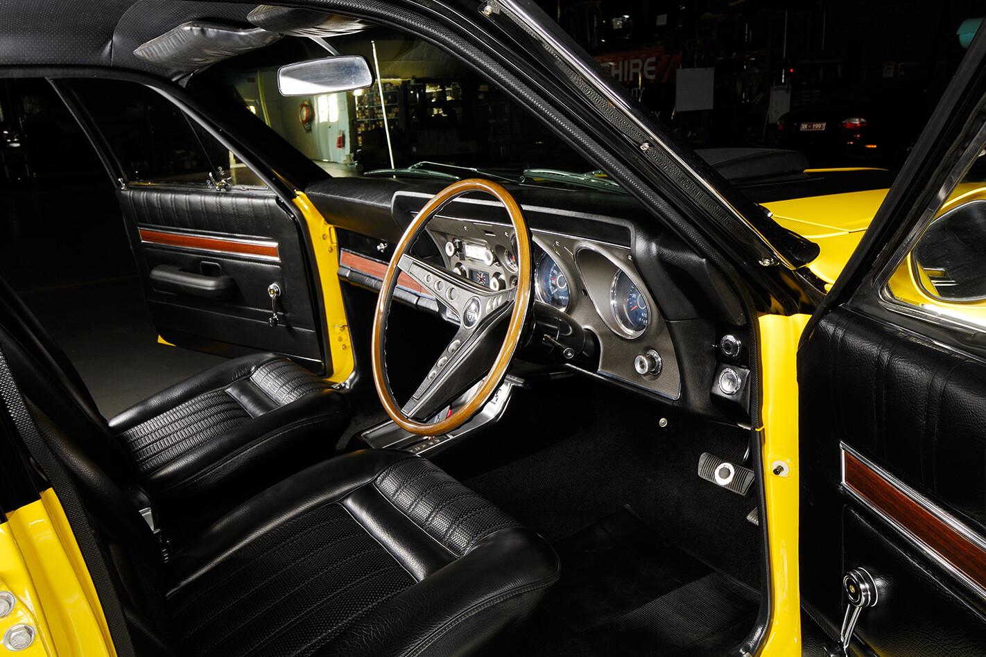 Ford Falcon XY interior