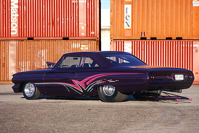 1964 Ford Galaxie rear angle