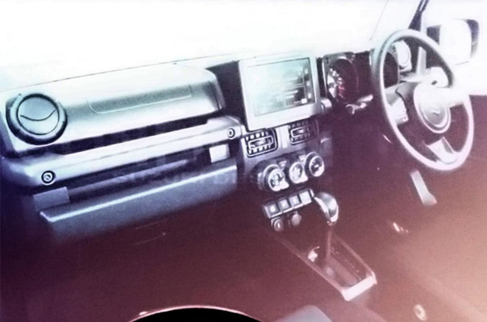 Suzuki Jimny Interior Jpg