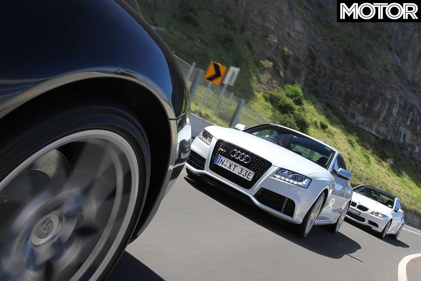 2011 Audi RS 5 Vs BMW M 3 Vs Porsche 911 Carrera 4 S Comparison Drive Jpg