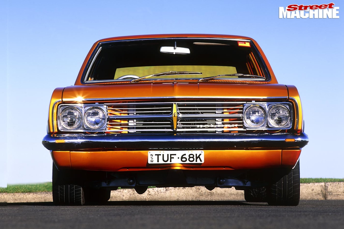 Holden HK Premier front