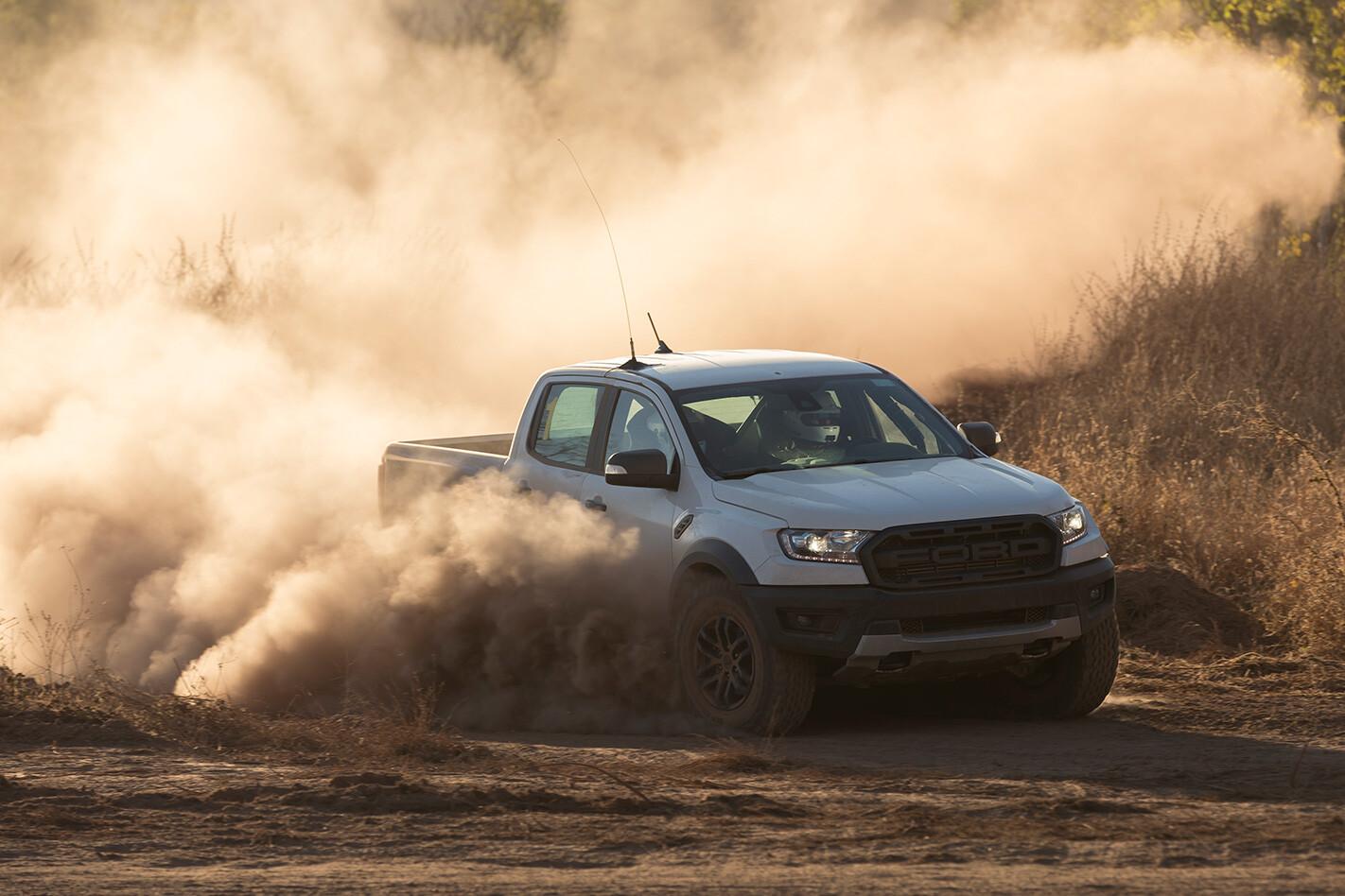 Ford Raptor Dust Jpg