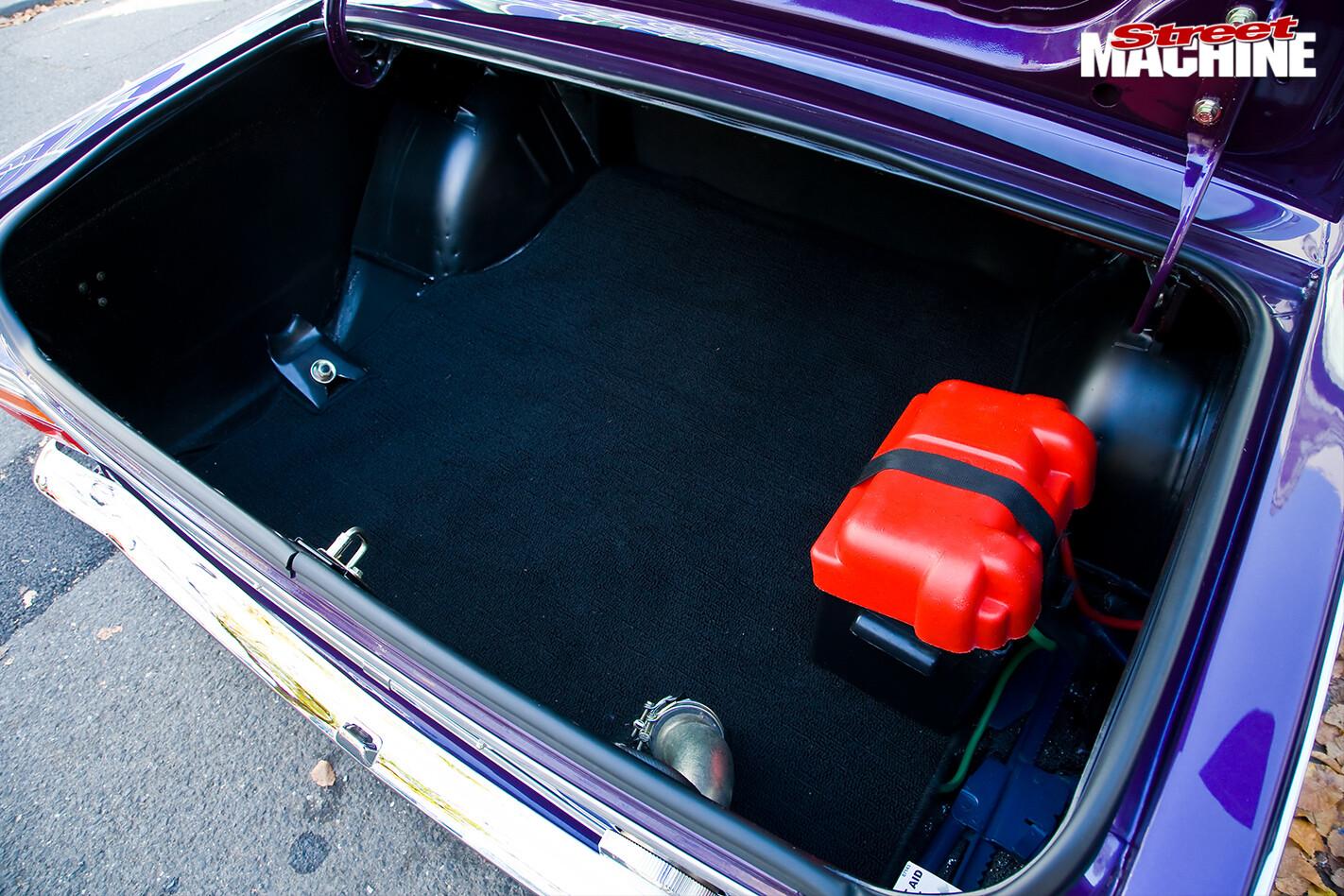 Ford -cortina -boot