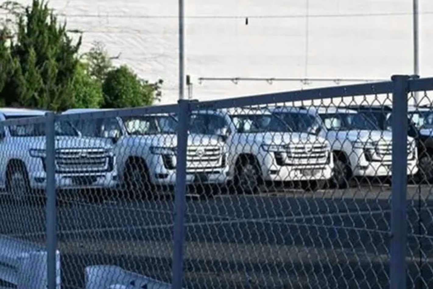 Next-gen 2022 Toyota LandCruiser spied