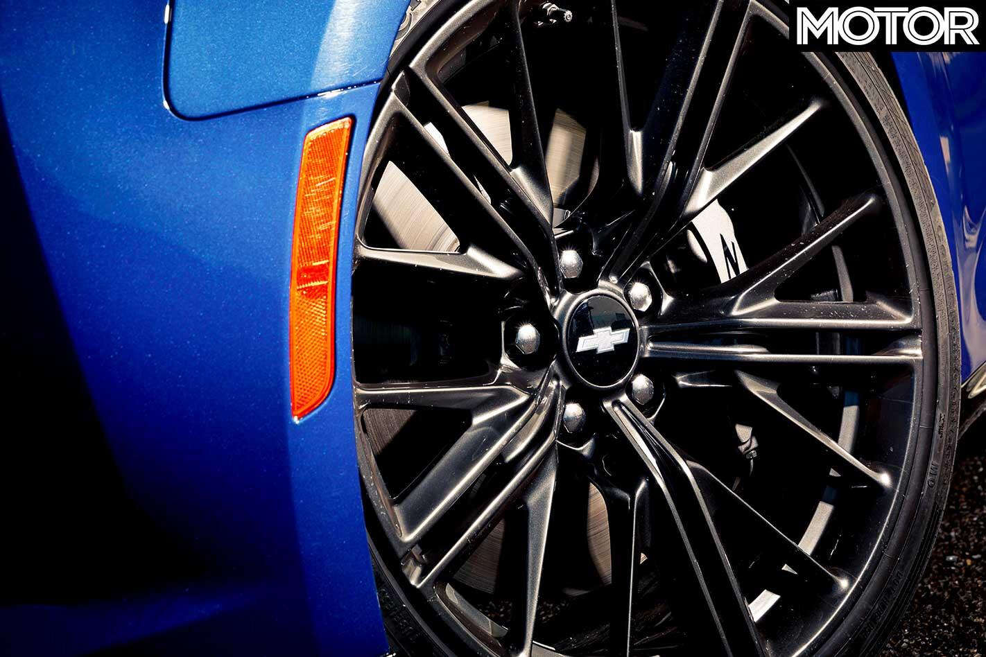 Chevrolet Camaro ZL 1 Tyres Jpg