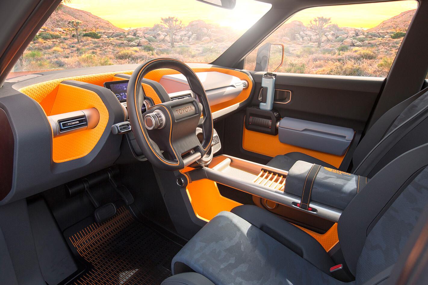 Toyota FT 4X cockpit