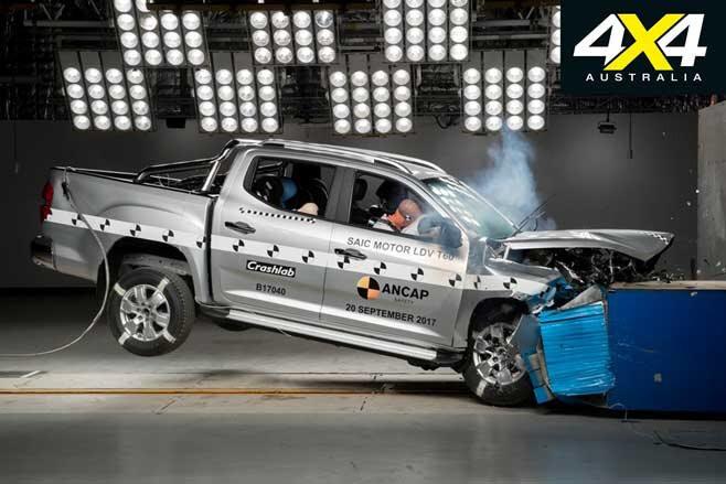 Dual Cab Ute Safety Features Explained LDV T 60 Crash Test Jpg