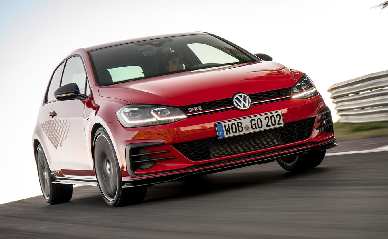 Volkswagen Golf GTI TCR launched overseas news