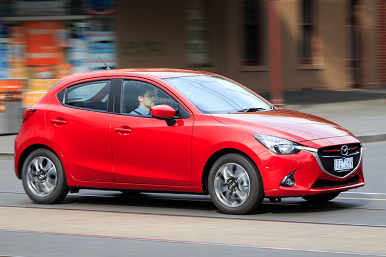 Mazda 2 front side view