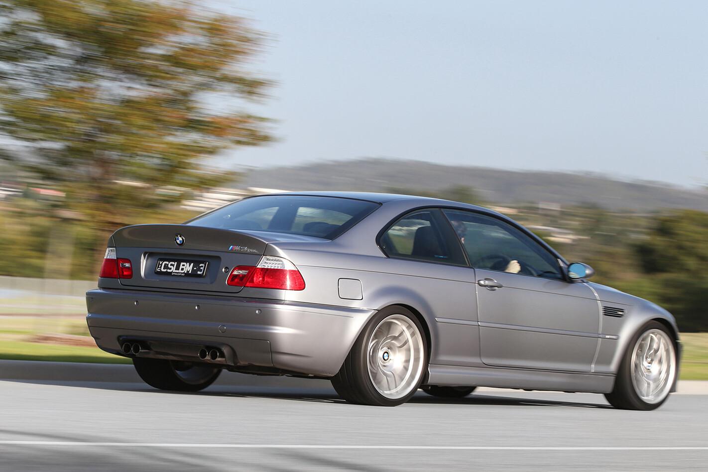 BMW M3 E46 CSL rear