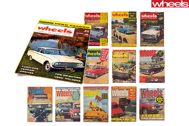 Wheels -magazine -covers -1950s