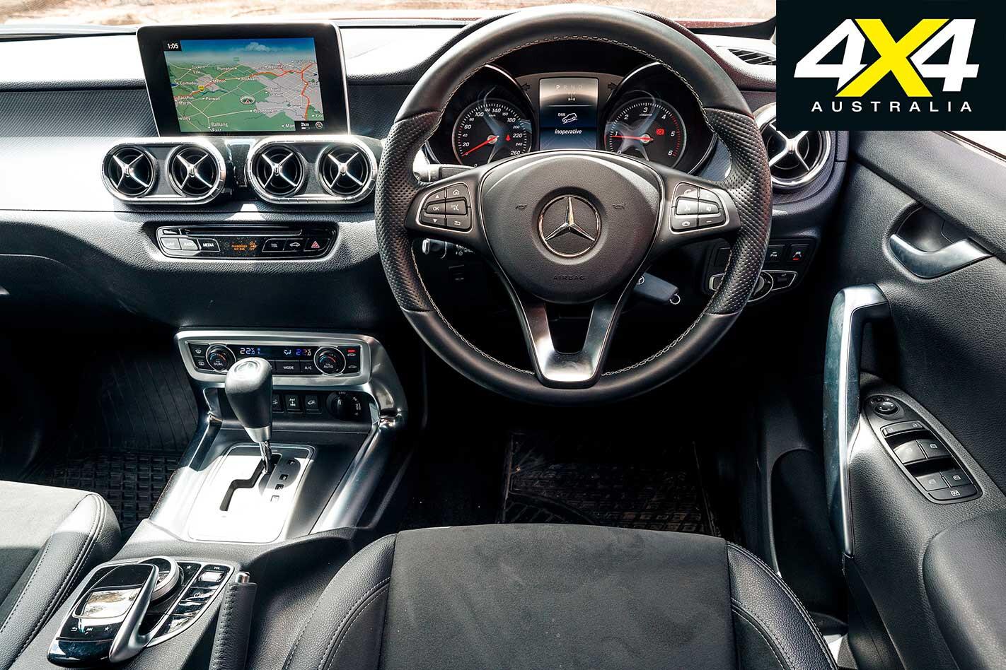 Mercedes Benz X 250 D Progressive Interior Jpg