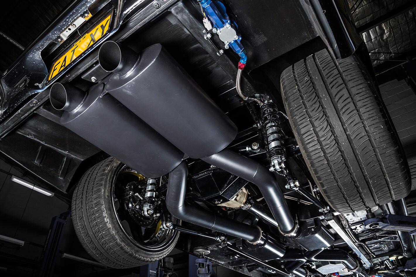 Ford Falcon XY mufflers