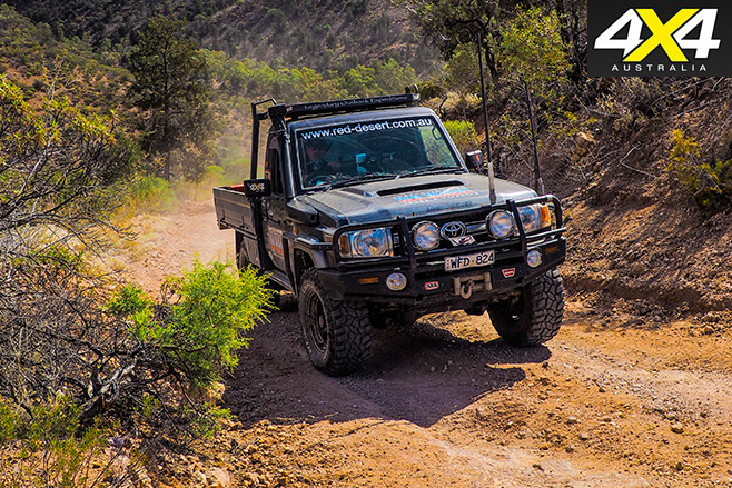 Uphill driving with cooper STT Pro tyres