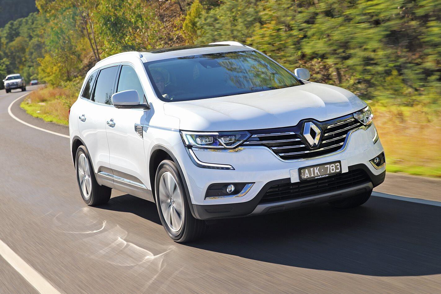 Renault adds diesel power to Koleos SUV range