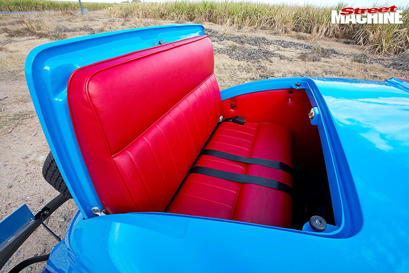 Ford Roadster rear seat