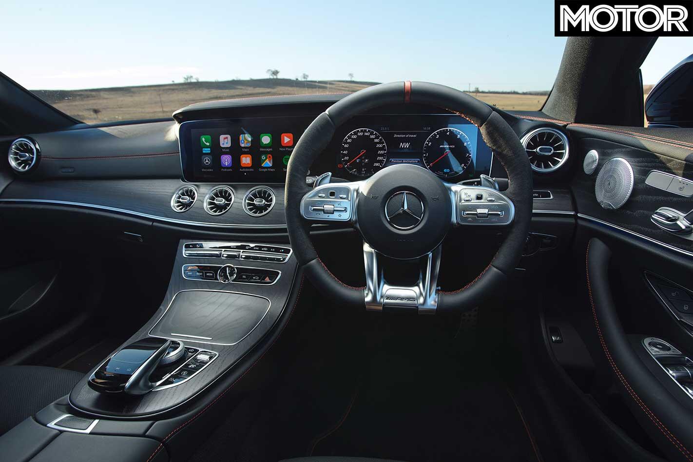 2019 Mercedes AMG E 53 Coupe AMG Interior Jpg